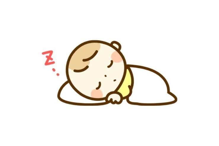 【夜泣き対策】添い乳せずに育てた結果、まとまって寝る子に!スワドルミーも効果あり